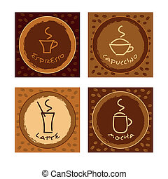 Collection of gift tags - Vector illustration of gift tags...