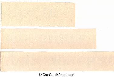 Grunge Paper Pieces