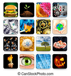 Collection of icons for programs and games - Collection of ...