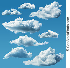 collection of isolated clouds
