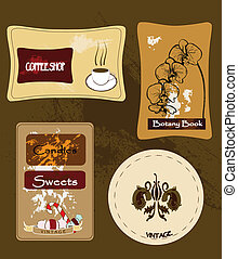 collection of labels