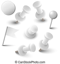 Collection of marking accessories - white