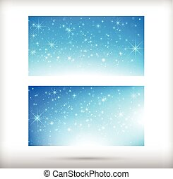 Collection of merry christmas card template with copyspace horizontal vector illustration eps10 004