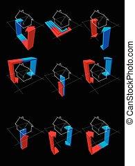 heat pump diagrams - collection of nine heat pump diagrams -...