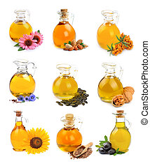 Collection of oil.