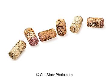 old wine corks