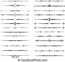 Ornamental Rule Lines - Collection of Ornamental Rule Lines ...