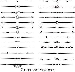 Ornamental Rule Lines