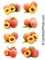 Collection of peaches