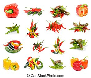 Collection of Peppers