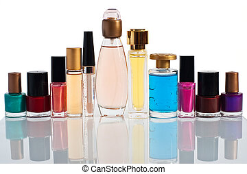 collection of perfume