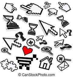 pixel computer icons