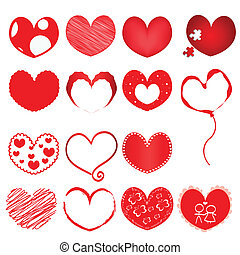 Collection-of-red-hearts