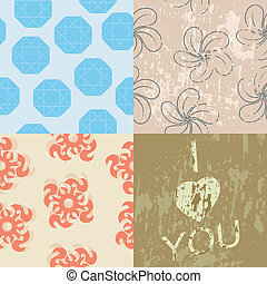 collection of seamless textures