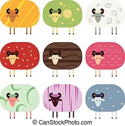 Collection of sheep