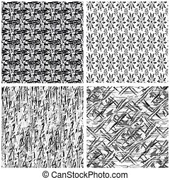 collection of simple backgrounds beautiful classic vector illustration