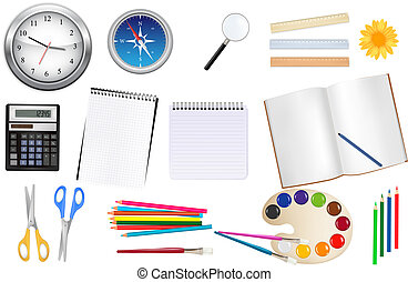 Collection of stationery