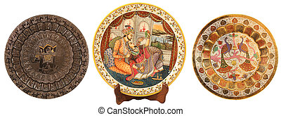Collection of subjects of an interior from India
