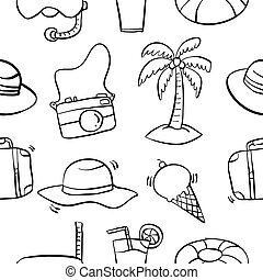 Collection of summer pattern style