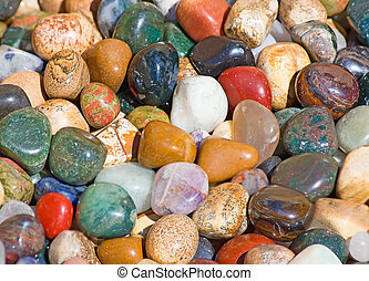 semi precious stones - Collection of the semi precious...
