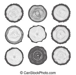Collection of Tree Rings