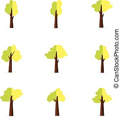 Collection of tree set vector
