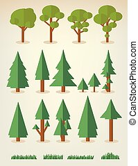Collection of trees