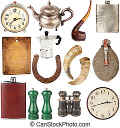 Collection of various vintage items - Big size collection of...