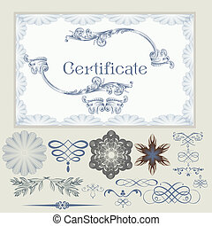 Collection of vector certificate