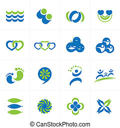vector design elements - collection of vector design ...