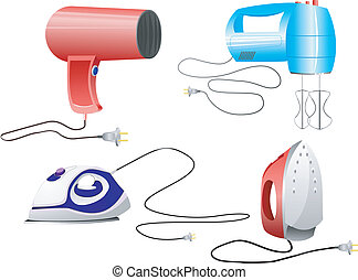 vector images of appliances