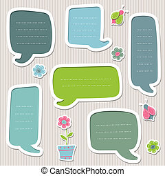 Collection of vector text frames