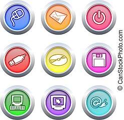 computer buttons
