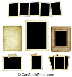 Collection of Vintage Photo Frames - Collection of vintage...