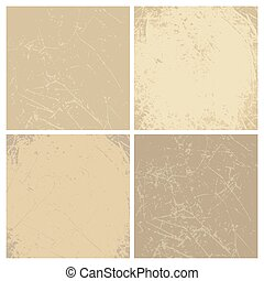 Collection of vintage vector backgrounds.