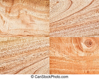 collection of wood background material