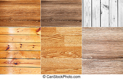 collection of wood background