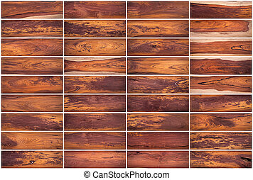 Collection of Wood texture background Set 02