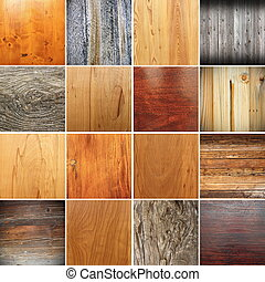 collection of wooden textures for your design