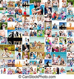 happy families - collection photos of happy families
