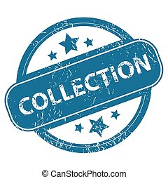 COLLECTION round stamp