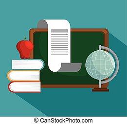 collection school education online symbol