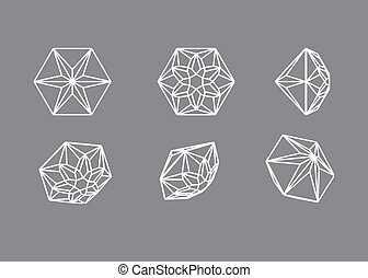 Collection shapes of diamond