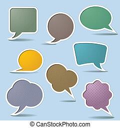 Collection Speech Bubbles