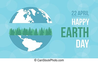 Collection stock of happy earth day