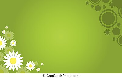 Collection stock of spring background
