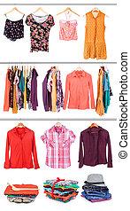 collection, vêtements
