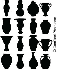 collection, vase