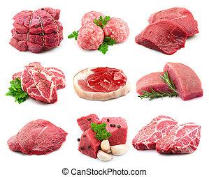 collectionon, kött