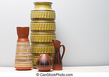 Collectoin of West German Pottery